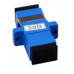 ატენუატორები და ადაპტერები - 3dB, SC to SC mechanical attenuator