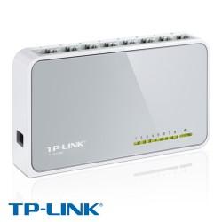 8 პორტიანი ქსელის კომუტატორი TP-Link TL-SF1008D