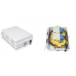 PLC სპლიტერები და სპლიტერის ყუთები - ოპტიკური სპლიტერის ყუთი 32 არხიანი